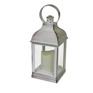 """Lanterne Camelot 4x4x10½"""" (un. cs.12)"""