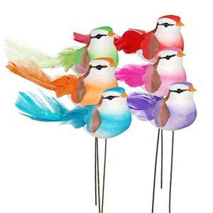 "Oiseaux «Tropitail» 3"" bte.24"