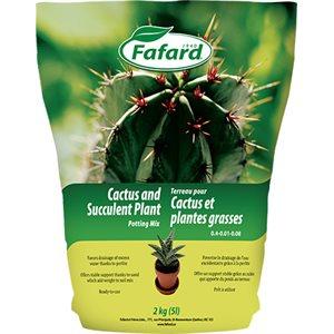 FAFARD Terreau Cactus et Plantes grasses 5L