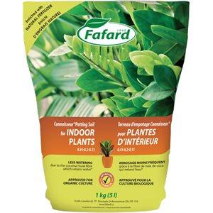 FAFARD Terreau plante d'intérieur 5L